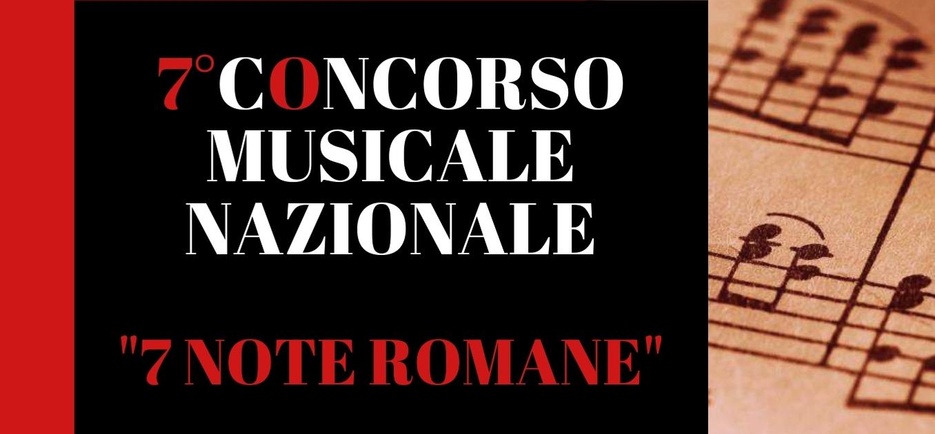 concorso 7 note romane